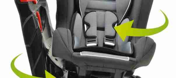 Draaibare autostoeltjes
