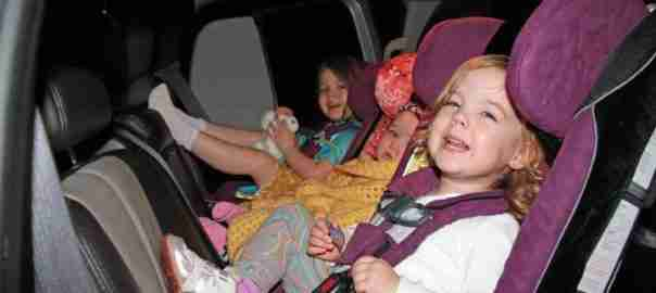 achterwaarts autostoel