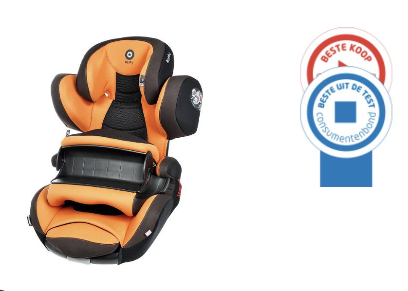 Autostoel met Isofix en gordel bevestiging