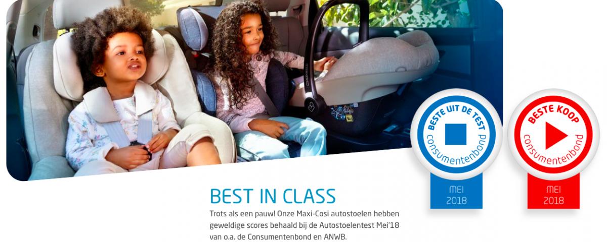 Maxi Cosi I-Size autostoelen